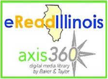 eRead Illinois with the following link attached, http://alpha.axis360.baker-taylor.com/