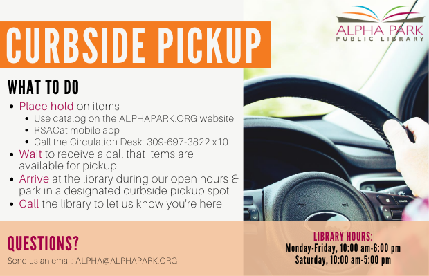 curbside pickup is still available.