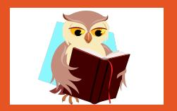 Owl Reading, includes a link to summer reading page,  http://www.alphapark.org/summerreading2020.html